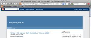 Arttorrents listing of U.S. Express Compilation