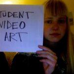 student video art