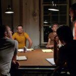 planning meeting; Billy, Steven, John, Markus, Matthew