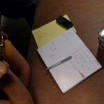 planning meeting; Billy's notes
