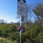 Roadside Memorial for Kimberly Denise Simione